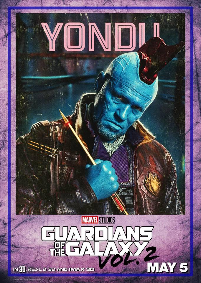 yondu gotg vol 2 poster
